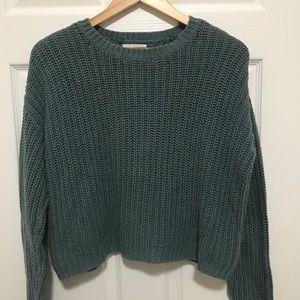LA Hearts Dark Teal Knit Sweater